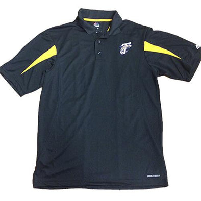 Tri-City Dust Devils Black TC Golf Polo