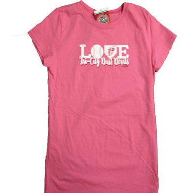 Tri-City Dust Devils Girls Love Tee