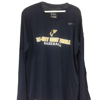 Tri-City Dust Devils Navy Dust Devils Dri-Fit