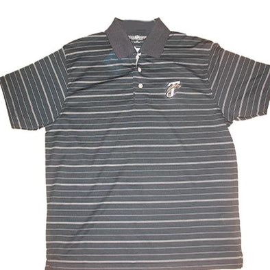 Tri-City Dust Devils Navy TC Golf Polo