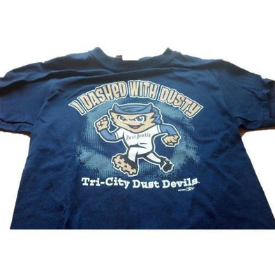 Tri-City Dust Devils Youth Dusty's Dash Tee