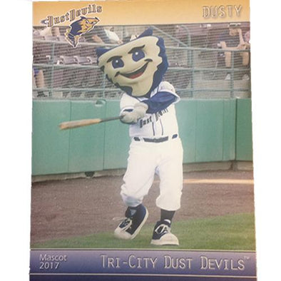 Tri-City Dust Devils 2017 Dust Devils Baseball Card Set