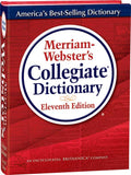 Merriam-Webster's Collegiate Dictionary Eleventh Edition 3D cover