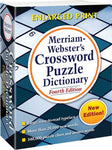 Merriam-Webster's Crossword Puzzle Dictionary, Fourth Edition 3D cover