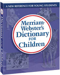 Merriam-Webster's Dictionary for Children 3D cover