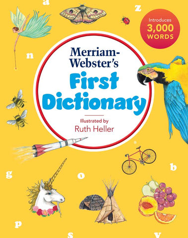 Merriam-Webster's First Dictionary, 2021 Copyright cover