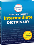 Merriam-Webster Intermediate Dictionary 3D cover