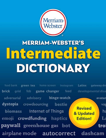 Merriam-Webster's Intermediate Dictionary cover