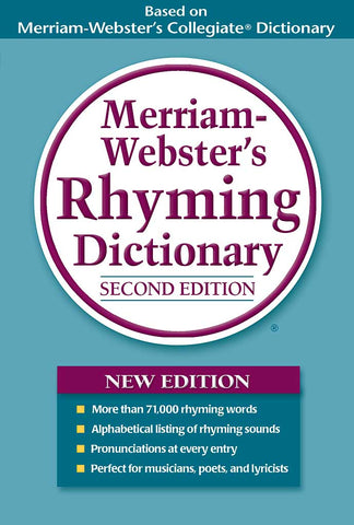 Merriam-Webster's Rhyming Dictionary, Second Edition cover