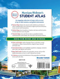 Merriam-Webster's Student Atlas back cover