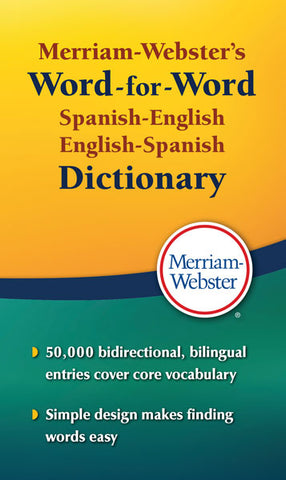 Merriam-Webster's Word-for-Word Spanish-English cover