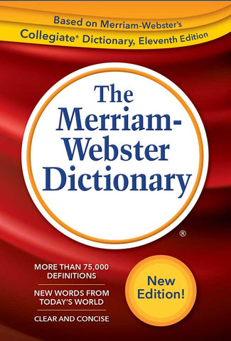 The Merriam-Webster Dictionary cover