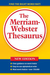 The Merriam-Webster Thesaurus (Trade paperback) cover