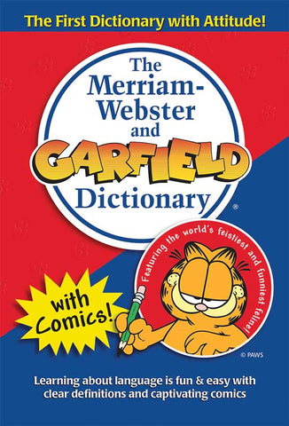 The Merriam-Webster and Garfield Dictionary cover