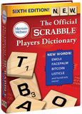 The Official SCRABBLE® Players Dictionary, Sixth Edition 3D cover