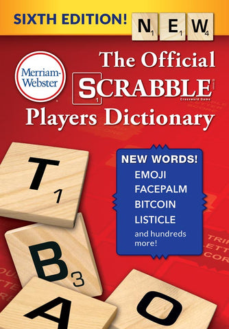 The Official SCRABBLE® Players Dictionary, Sixth Edition cover