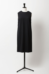 Wool Sack Dress | Noir