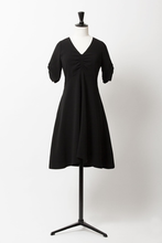 Load image into Gallery viewer, Fit & Flare Dress | Noir