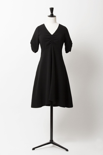 Fit & Flare Dress | Noir