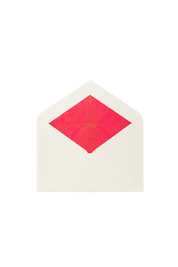 Card And Envelope - Elephant  | Pink