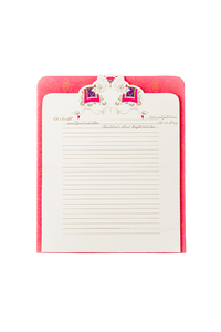 Writing Paper And Envelope - Elephant  | Pink