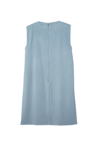 Side-Slit Gillet | Smork Blue