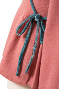 Velour Piping Cache Coeur | Coral