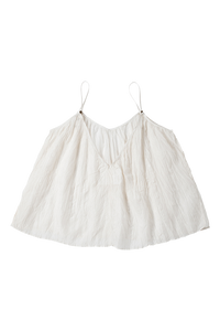Crinkle Camisole | Shell White