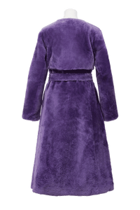 Color Mouton Coat | Lilac