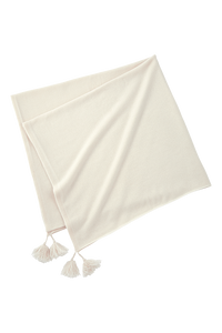 Large Stole | Shell White