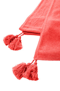 Large Stole | Coral