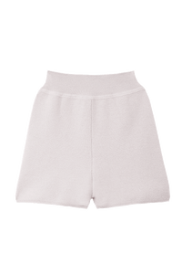 Rib Mini Pants | Pearl