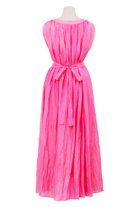 Crinkle Maxi One Piece | Pink