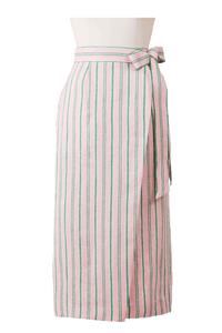 Stripe Straight Skirt | Orchid