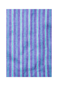 Stripe Straight Skirt | Turquoise Purple