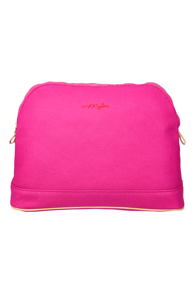 Travel Pouch - Large | Fuchsia Pink