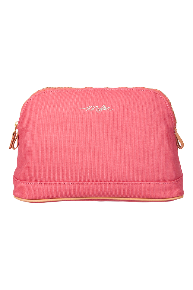 Travel Pouch - Small | Coral Pink