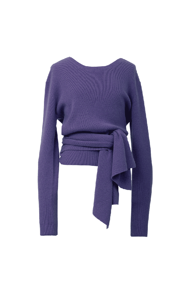2Way Rib Knit | Mauve