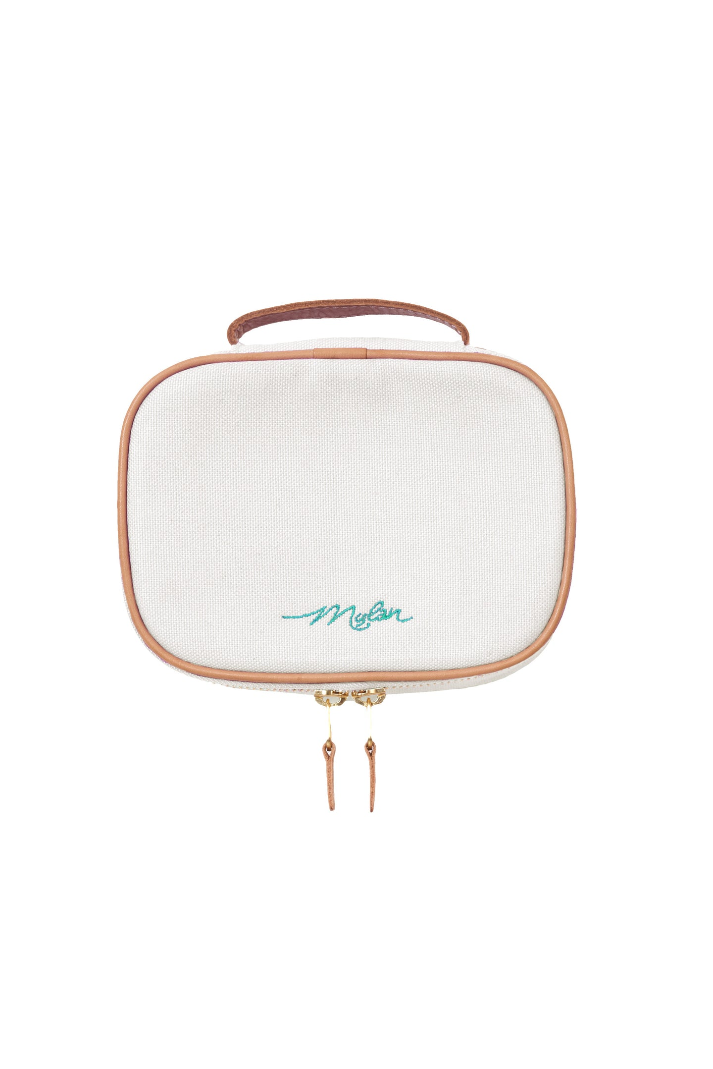 Canvas Cosmetic Pouch | Off White