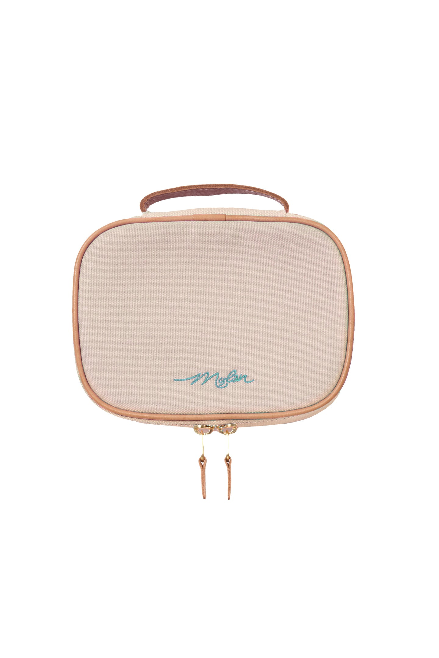 Canvas Cosmetic Pouch | Oyster