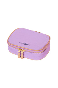 Canvas Cosmetic Pouch | Peony Purple