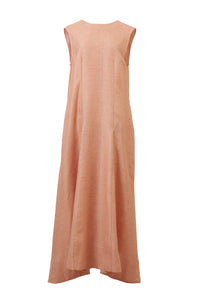Square Back Open Maxi | Cinnamon