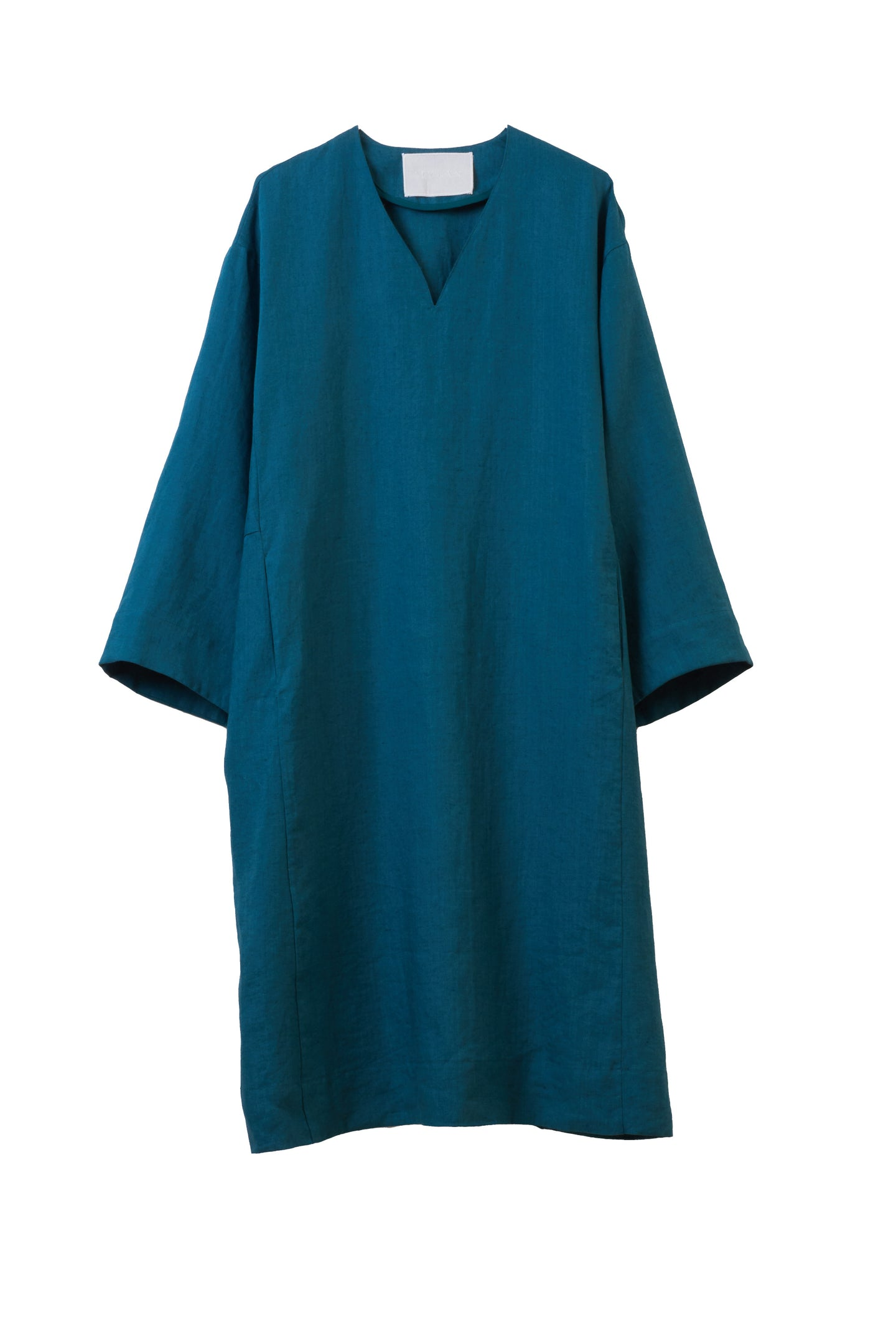 Color Linen Oversize Dress | Earth