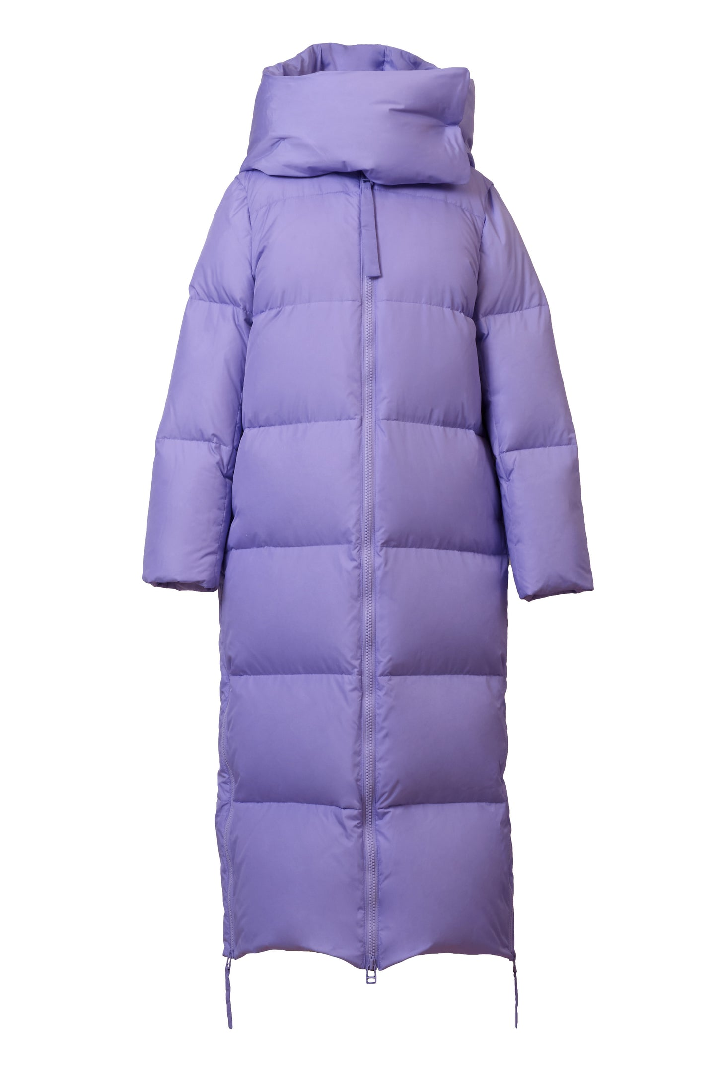 Long Down Coat | Lilac