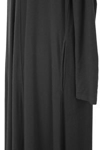 Cashmere Blend Dress | Charcoal  Gray