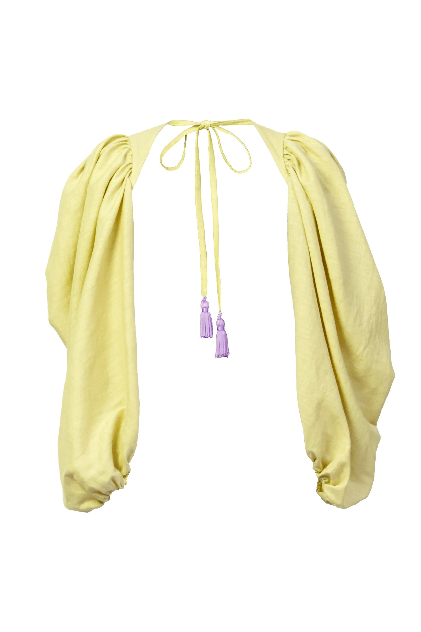 Shine Linen Volume Arm | Citrine