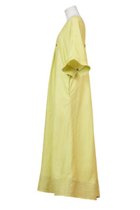 Paganini Vneck Maxi Dress | Sunshine