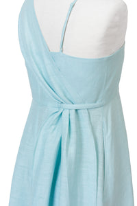 Shine Linen One Shoulder Dress | Sunshine