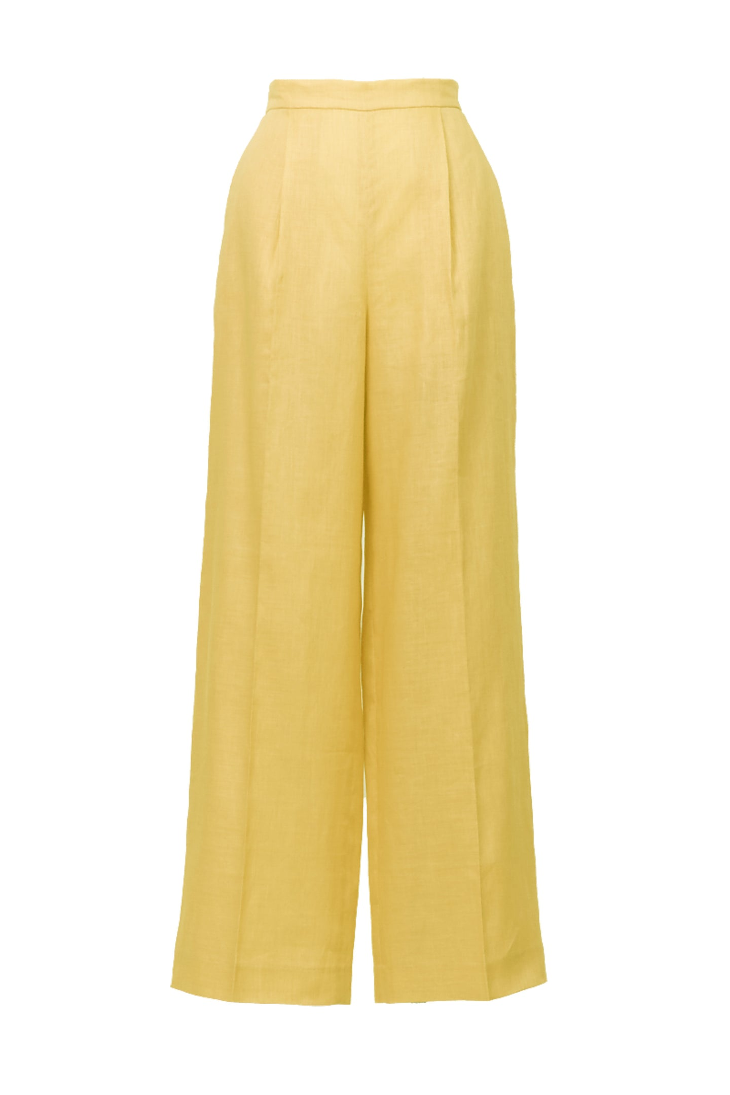 Botanical Dye Separate Pants | Peony Citrine