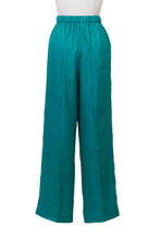Load image into Gallery viewer, Botanical Dye Separate Pants | Peony Malachite
